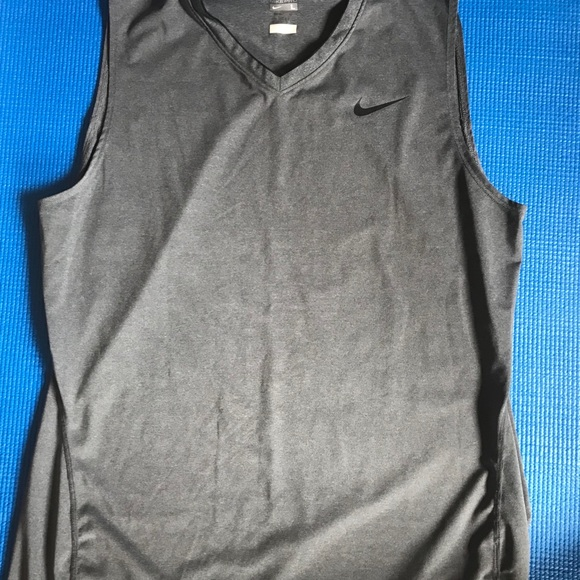 Nike size Large Grey Sleeveless